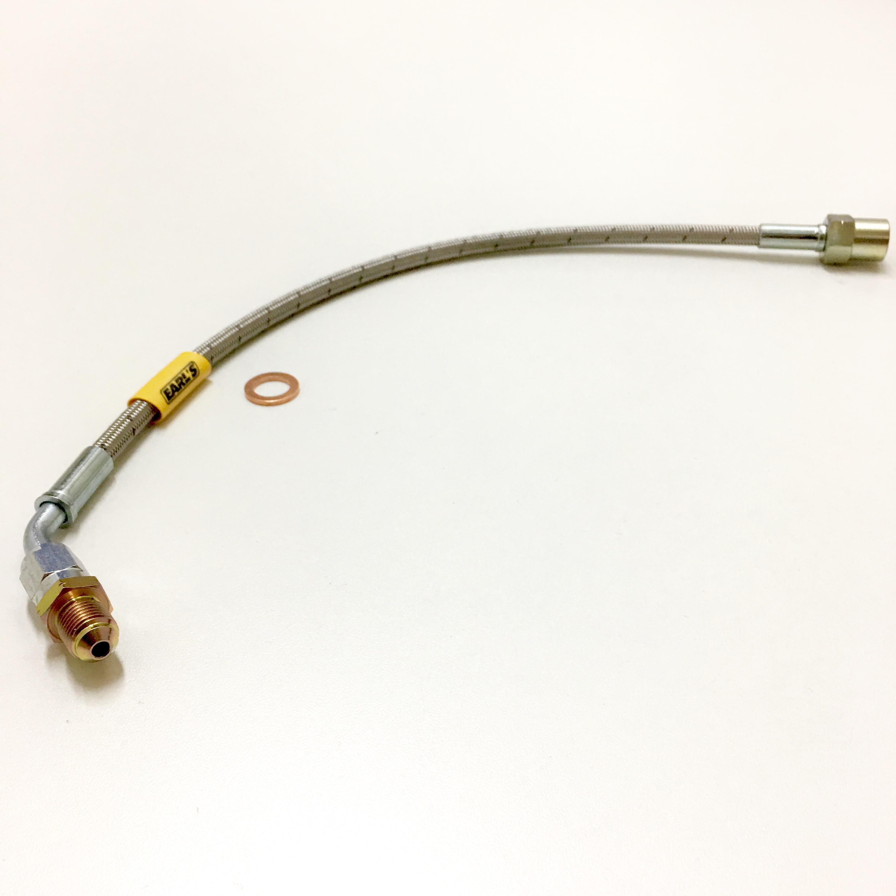 BMW Clutch Hose bmw z3 and z3m clutch line (removing cdv) stainless steel