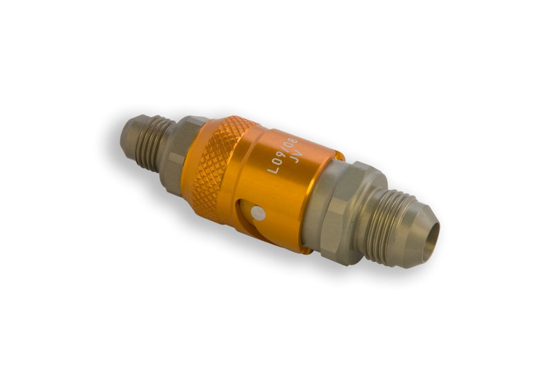 AN-8 Quick Release//Dry Break Fittings Hose /& Fittings Adapters
